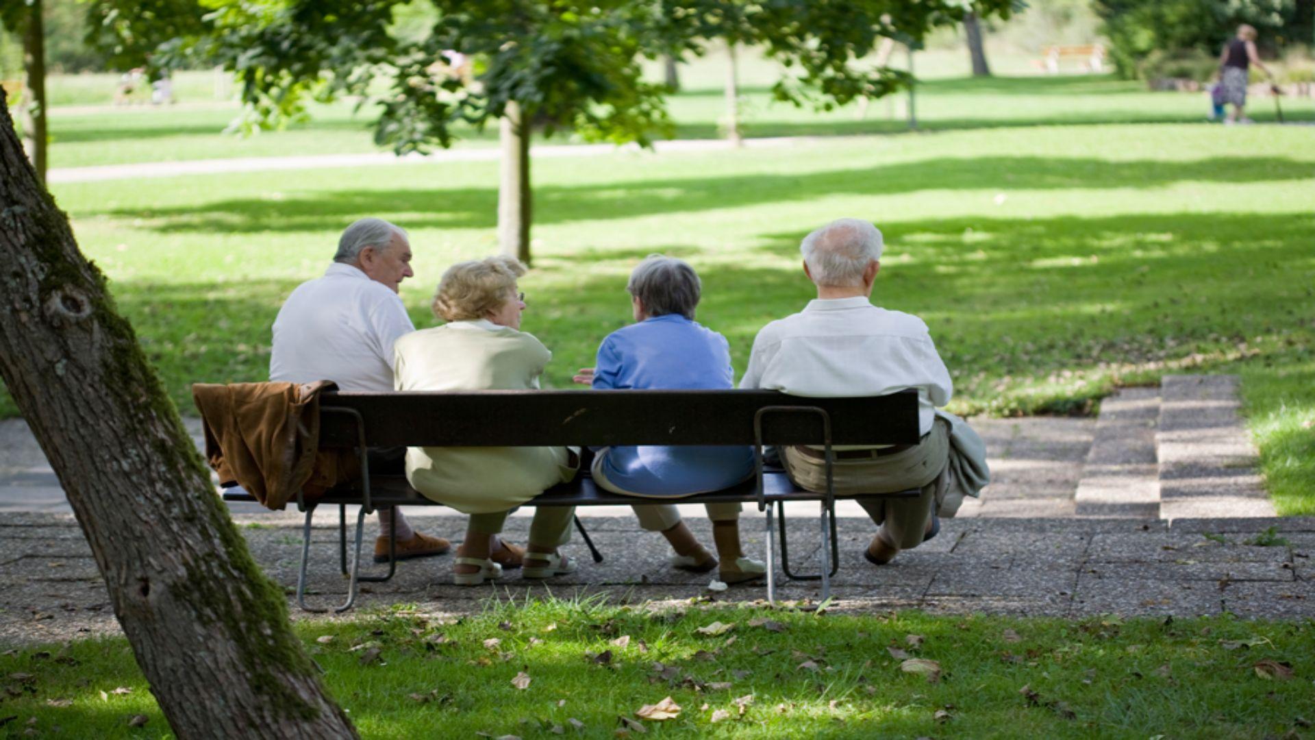 Senioren im Kurpark