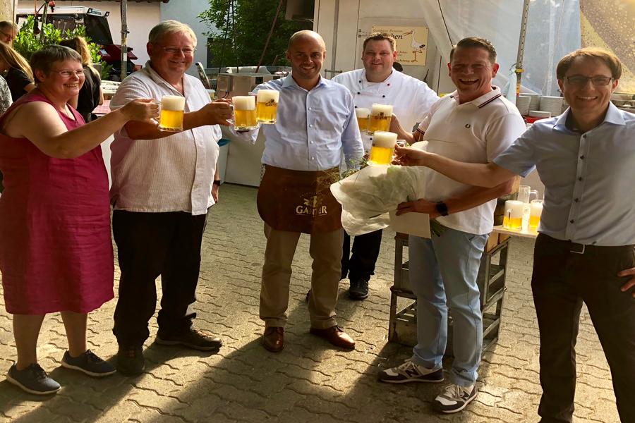Hoffest Gasthaus Storchen in Bamlach