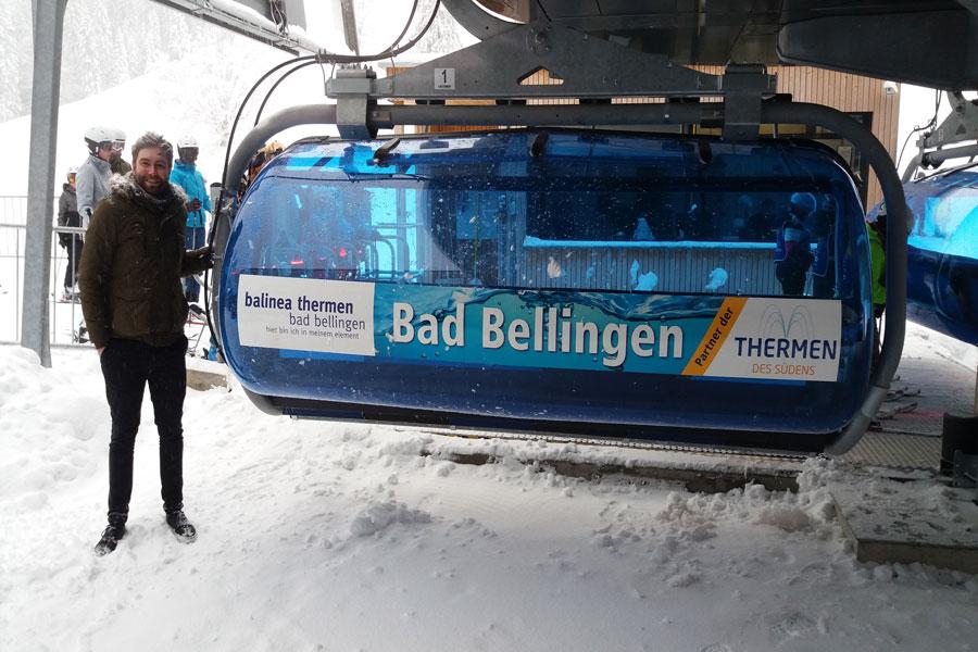 Zeigerbahn mit BuK-Geschäftsführer Dennis Schneider