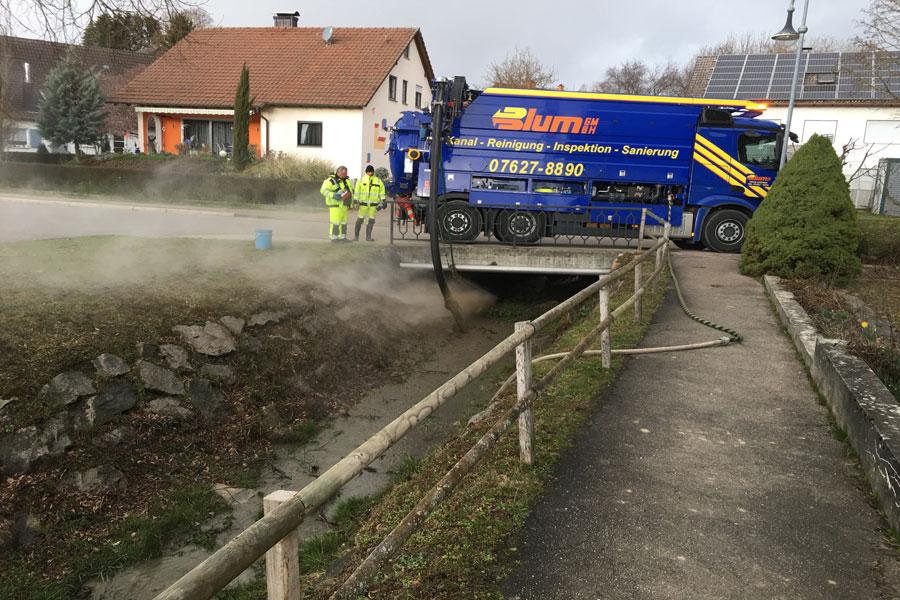 Brückenreinigung Hertingen