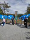 Offizielle Eröffnung des Rheinstegs