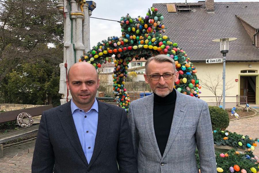 Armin Schuster zu Besuch in Bad Bellingen