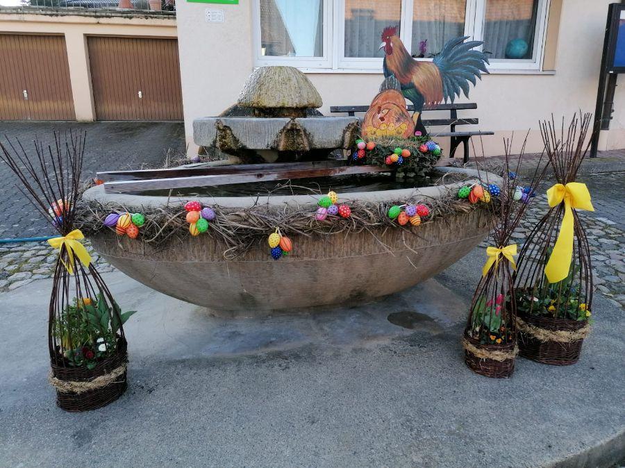 Osterbrunnen Bamlach