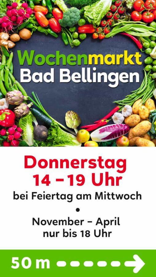 Wochenmarkt Bad Bellingen