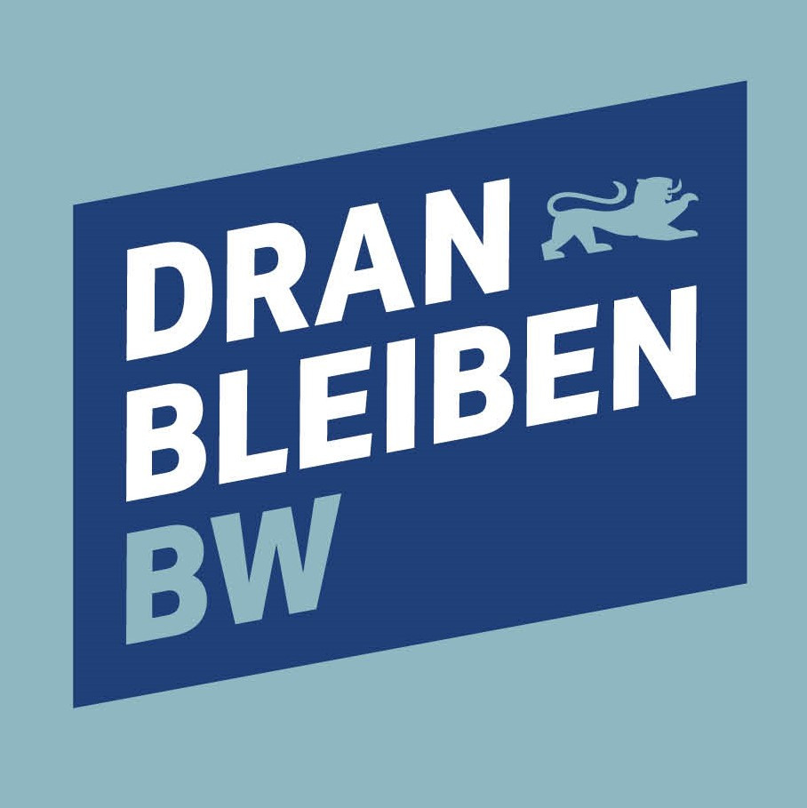 dranbleiben Logo