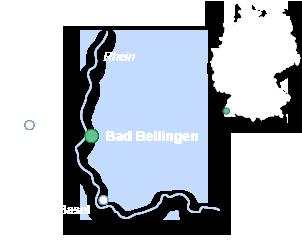 Lageplan Bad Bellingen